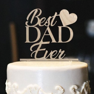 Fathers Day Cake Toppers