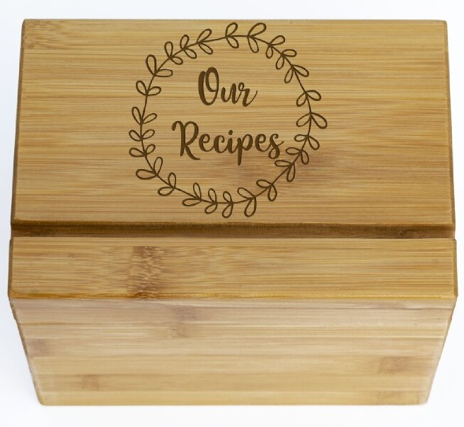 Our Recipes In Laurel Recipe Box