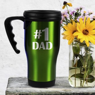 Fathers Day Travel Mugs - Personalized by Kate