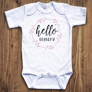 Grandma Baby Clothes Personalized By Kate