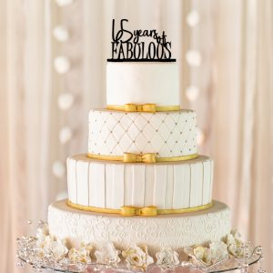 65 Years Of Fabulous Cake Topper