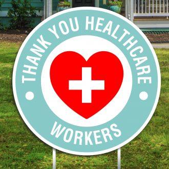Essential Workers Yard Signs