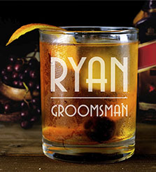 Personalized Whisky Glasses