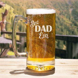 Best Dad Ever Beer Mug
