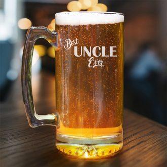 Best Uncle Ever Beer Mug